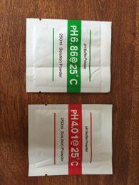 Wholesale 200Pcs PH Buffer Powder for aquarium PH meter PH Test Meter Measure Calibration Solution