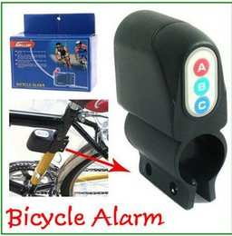 Wholesale 100 piece Bicycle Alarm Security Steal safety Lock Moped Bike Motorbike Alarm Electronic Lock For Safe