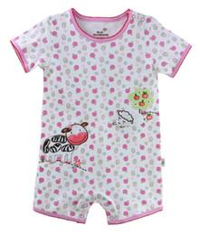 Venta al por mayor de primer Momentos de los bebés de los mamelucos del mono leche Granja ropa de bebé más florales Una Pieza Ropa Envío Gratis desde primeros momentos la ropa del bebé proveedores