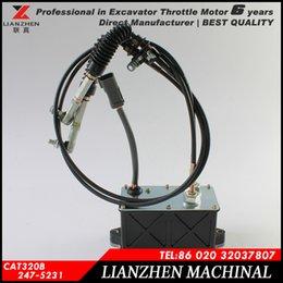 Wholesale E320B stepper motor engine control motor throttle motor for excavator parts manufacturer