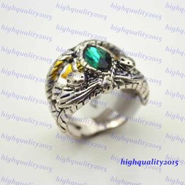 Wholesale Hot Sale TOP Quality Lord Of The Rings Jewelry Fashion Silver Of Aragorn Rings Vintage Jewelry For Men Size
