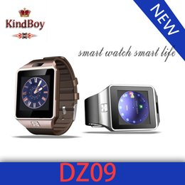 Wholesale best price inch Bluetooth Smart watch DZ09 SIM Phone Call Write Watch Pedometer Camera for iPhone Plus S Samsung S6