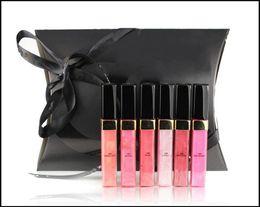 Wholesale New Makeup Brand Lipgloss Different Color Lipgloss Set Make Up Sample Size Lip Gloss