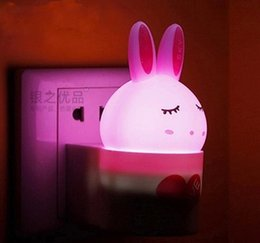 saving wall lamp for baby bedroom voice controlled optically control