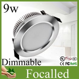 Wholesale New Style Cree Led Ceiling Downlight Recessed w High Power Led Spotlight v warm cool white beam angle Led Light For Home Free DHL