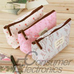 1pc new floral cartoon pencil case school pencil cases for g