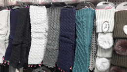 2015 Solid knit Fingerless Gloves Ballet Dance glove long Arm Warmers mitten Fashion mixed 24pairs lot #3707