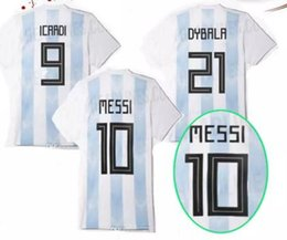 2018 world cup new Argentina home Soccer Jersey Argentin soccer shirt world cup messi dybala Football Shirt