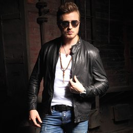 Korean Leather Jacket For Men Samples, Korean Leather Jacket For ...