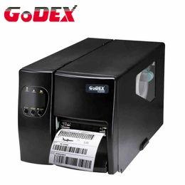Godex imprimante à étiquettes code à barres industrielle EZ2050 code qr imprimante adhésive autocollants machine peut imprimer étiquette de vêtements étiquette de lavage à partir de autocollants machines d'impression fabricateur