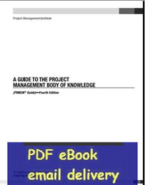 Wholesale A Guide to the Project Management Body of Knowledge th