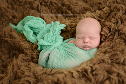 Wholesale 36 quot x quot Grade Soft dyed Cheesecloth Wrap Baby Scarves Newborn Photography Prop