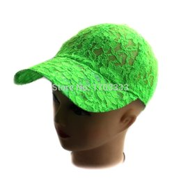 Wholesale 2015 New Fashion Summer women s lace Baseball Cap for ladies and girls Colors Can Choose