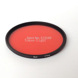 67mm M67 Full Color Red Filter underwater DIVE for Camera Lens Conversion with thread mount lens radar