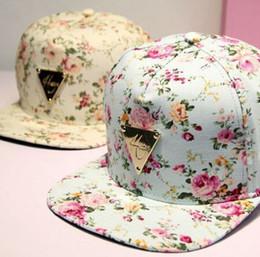 HATER Snapback Hat Flowers Bone Snap Back gorras Men Hip Hop Cap Sport Baseball Cap Fashion Flat-brimmed Hat