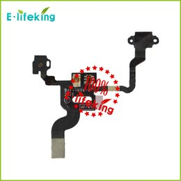 Wholesale For iPhone G S Proximity Light Sensor Power Button Flex Cable On Off Ribbon Mic Microphone Replacement Part