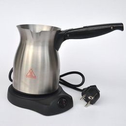 Wholesale Turkish coffee Turkish coffee pot electric stainless steel cooker chocolate milk cup Coffee machine BP600