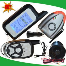 Wholesale DIY car alarm system is with air pressure detection alarm shock sensor alarm no installation DIY mode wireless siren alarm