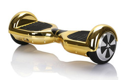 Wholesale New Arrival Stock in USA Chrome iScooter Hoverboard wheels self balancing electric scooter Smart balance wheel Nice hover board