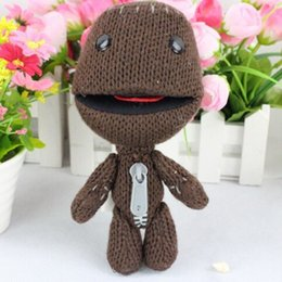 Wholesale 1pc16CM Little Big Planet Plush Toy Sackboy Cuddly Knitted Stuffed Doll Figure Toys Cute Kids Animal Comfort Doll