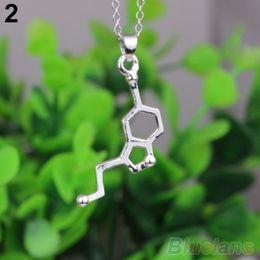 Wholesale DNA Necklace Serotonin Dopamine Acetylcholine Biochemistry Molecule Catop K4Z