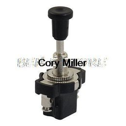 Wholesale SPST Pins Locking DC V V A A Auto Automobile Car Pushbutton Switch order lt no track