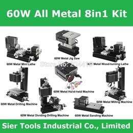 Wholesale Big Power Type W Metal in lathe TZ8000M lathe Machine W rpm DIY metal lathe powerful metal in1