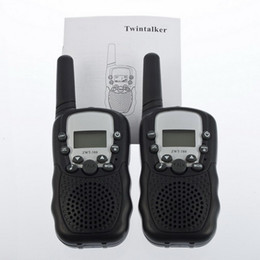 LCD 22 Channels Monitor Function Mini Walkie Talkie Travel T-388 Two Way Radio Intercom
