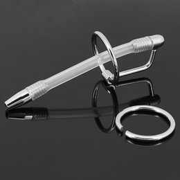Chastity Devices Urethral Probe Urethral Catheter Prince Wand Male Hands Free Masturbator Urethral Stretching A504