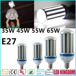 Promotion e27 ce smd E27 LED maïs Ampoules Lumières cool ou blanc chaud avec Chip SMD5730 Ampoule Aluminium Shell AC85 265V 360 degrés CE FCCUL