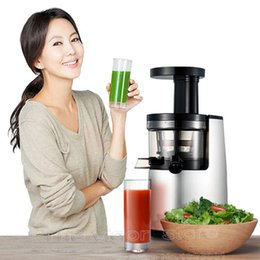 Wholesale 2nd Generation Original HUROM HH SBF11 Slow Juicer Fruit Vegetable Citrus Low Speed Juice Extractor Hurom Made in Korea