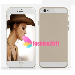 Wholesale 5 inch Goophone i6 i6 Dual Core MTK6572 GHz GB GB Android Jelly Bean GPS WiFi G WCDMA Nano Sim Card Smart Phone