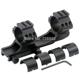 25.4mm 30mm Dual Ring Cantilever Scope Mount Picatinny Weaver Scope Rail Mount Heavy Duty Scope Mount