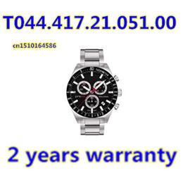 Wholesale Original Japan Quartz Movement Men s Chronograph Watch T044 T044 Gents Wristwatch PRS516 Original Box