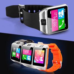 """Acheter en ligne Spies caméras-GV08 smart watch téléphone avec 1.3Mp caméra espion, 1.5 """"écran tactile, bluetooth smartwatch Sync Call SMS Anti-perdu pour iPhone Samsung Android"""