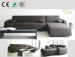 Japanese-style fabric sofa small apartment sofa corner sofa combination of L-type cotton washable