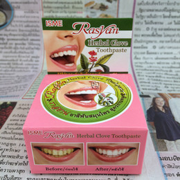 Wholesale New Guranteed Rasyan ISME Herbal Clove Toothpaste Tooth paste Anti Bacteria Bad Breath Decay G