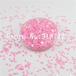 Escama de lentejuelas en venta-3mm estrellas 10 g de copos de lentejuelas para decortation casa / costura / decoración de la boda del confeti 043006007