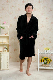 Thick fleece robes