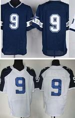 Wholesale 2015 Men s American Football Jerseys Cowboys romo Blue Elite Jersey Cheap Sports Jersey Stitched on jersey can mix order