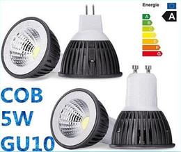 2,015 nouvelle vente COB 5W GU10 E27 ampoules LED E26 E14 MR16 420LM Dimmable LED Plafonniers chaud / froid Blanc 12V 110-240V CEROHS à partir de mr16 blanc chaud torchis 5w fabricateur