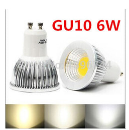 Super Bright GU 10 Bulbs Light Warm White 85-265V 6W 9W 12W GU10 COB LED lamp light GU 10 led Spotlight