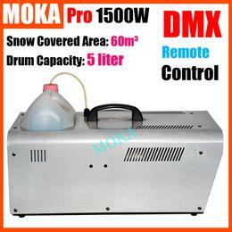 Wholesale Moka MK S02 W Snow Maker Snowflake Blower Machine High Output Snow Machine Use Party Theater Machine