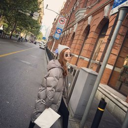 Wholesale 2016 new version of loose yards warm in winter long coat with long sleeves cotton jackets coats women s tide