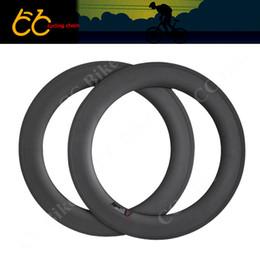 Wr s en Línea-La nueva bicicleta 100% de la fibra del carbón de la fibra del carbón de la fibra del carbón de 88m m forma las llantas de la bicicleta del camino del borde 700c del borde 23m m CC-WR-88T-W23-S