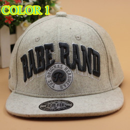 Wholesale FASHION RABE RAND THE ORIGINAL HEAD EMBROIDERED STINGY BRIM HATS MEN WOMEN Knit Hats And Snapback Caps SPRING Winter