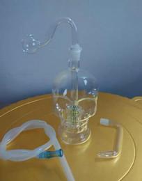 Wholesale Hookah - Hookah glass skull, sending accessories