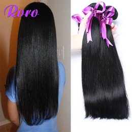 Brazilan Straight Human Hair Sale Natural Black 100g 8-28 Inches Mixed Length Brazilian Virgin Hair Straight Human Hair Extensions