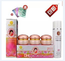 Wholesale 5sets Original YiQi Whitening Cream YiQi Beauty Whitening Effective In Days ABC Cream Facial Cleanser Trial Sample _