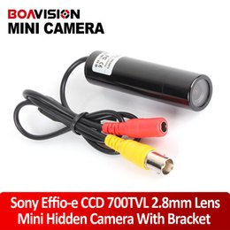 HD Mini Bullet Outdoor Waterproof Sony 700TVL Effio-e CCD Color Hidden Wide Angle 2.8MM CCTV Security Camera for 960H DVR